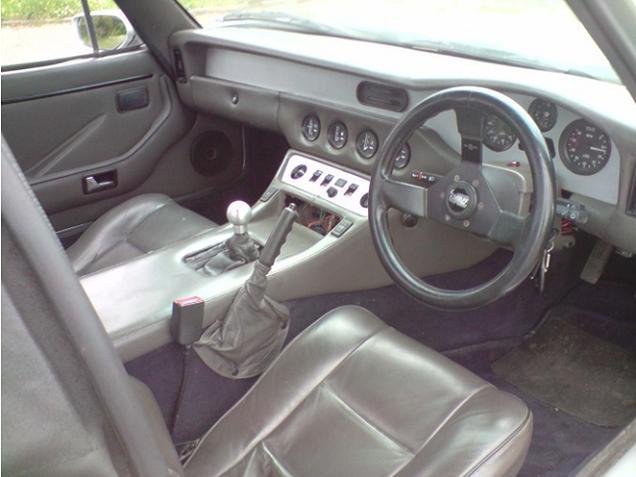 TVR S3 intérieur