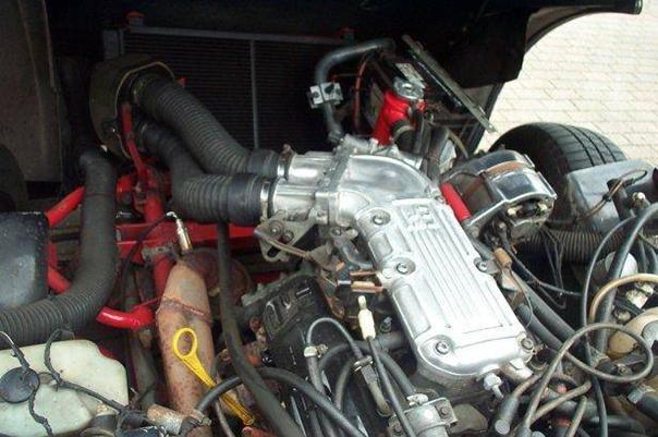 TVR S3C Moteur
