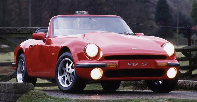TVR V8S Extérieur