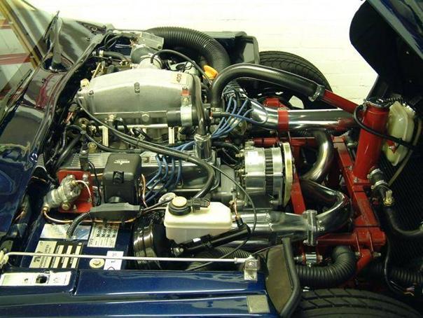 TVR V8S Moteur