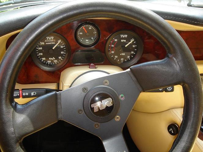 TVR Supercharged V8S Intérieur