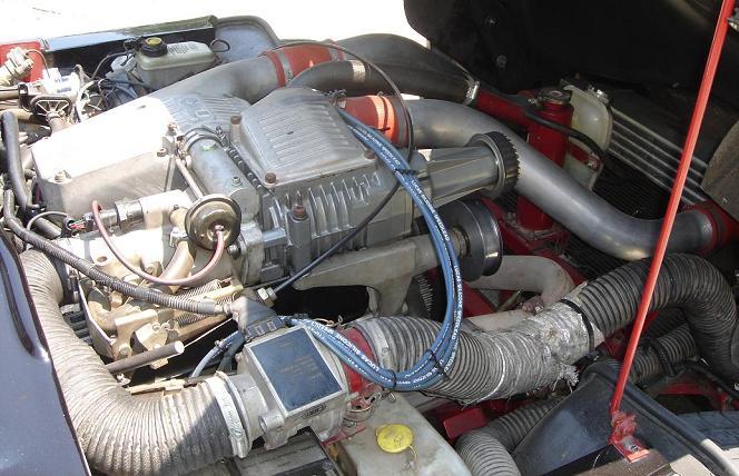 TVR Supercharged V8S Moteur