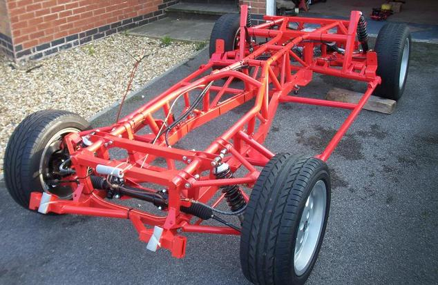 TVR V8S - chassis